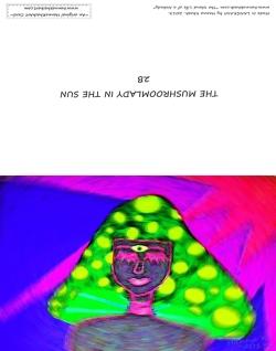 The MushroomLady In The Sun 2b